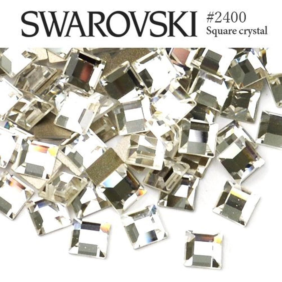 限り歌詞マラソン#2400 スクエア (正方形) [クリスタル] 3mm 20粒入り スワロフスキー ラインストーン
