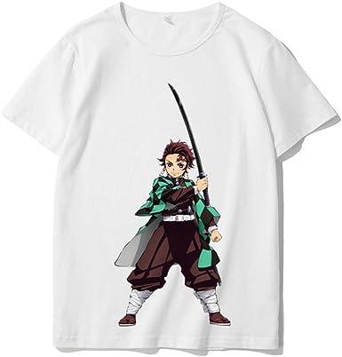 Camisas de Anime para Hombres Graphic Demon Slayer Zenitsu ...