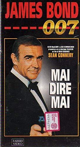 James Bond 007 Collection VHS Mai dire mai