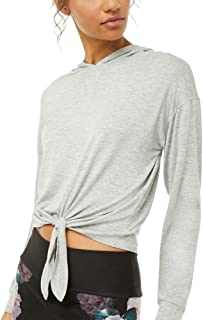 Bestisun Women's Strap Neck Long Sleeve Strappy Shirts Casual Blouse Top