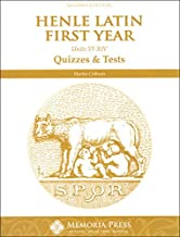 Henle Latin First Year Units VI-XIV Quizzes & Tests