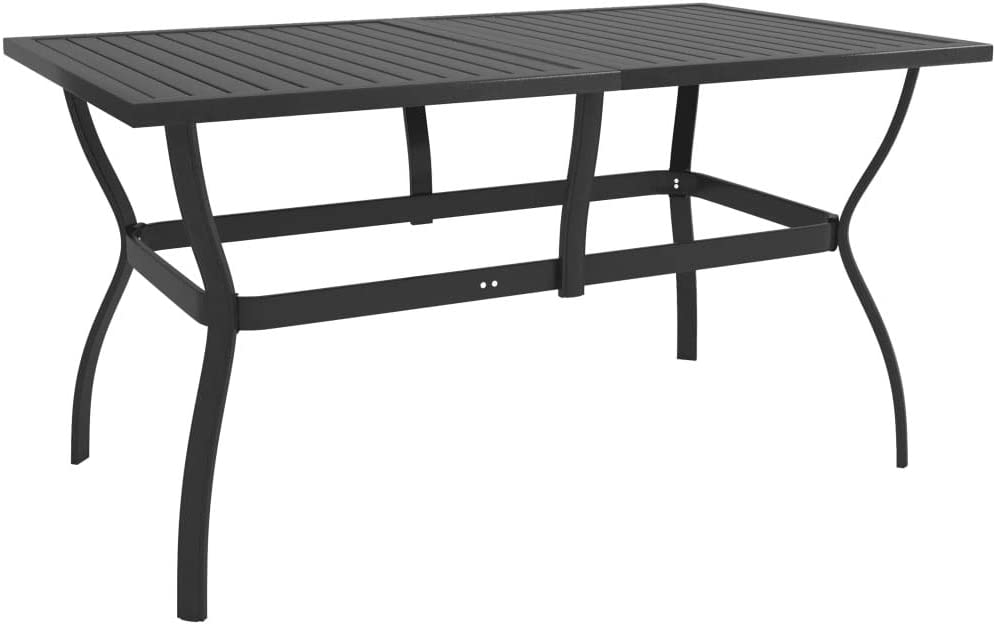 Patio Dining Table Tampa Mall Outdoor Weather-Resistant with S Cheap bargain