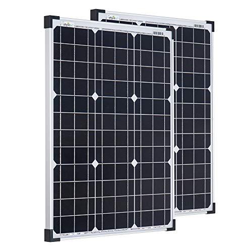 Offgridtec Sparbundle 2 Stk. Monkristallines Solarpanel 001260 50W 12V