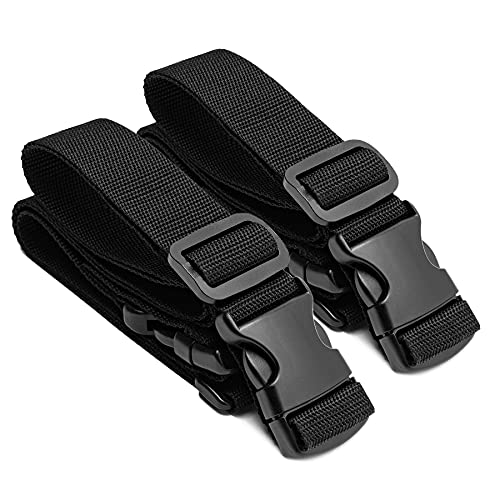 YSC Universal Collapsible Folding Outdoor Utility Wagon Straps (Straps Only, Black)