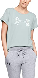 Under Armour Women's Graphic Script Logo UA Fashion Ssc T-Shirt