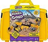 Kinetic Sand Valigetta Cantiere con veicolo e 907 g di sabbia, dai 3 anni - 6055877