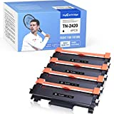 MyCartridge 4 cartuchos de tóner compatibles con Brother TN-2420 TN2420 (con chip) para MFC-L2710dw MFC-L2710dn MFC-L2750dw HL-L2375dw HL-L2370dn HL-L2350dw DCP-L2510d