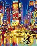 JXGG Impresiones de Lienzo en Las Pinturas de paisajes de la Calle San Francisco en murales de...