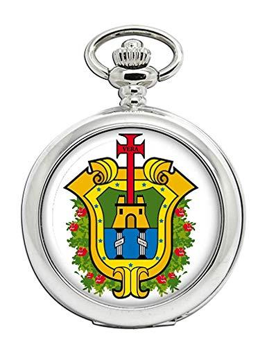 Veracruz (Mexico) Reloj Bolsillo Hunter Completo