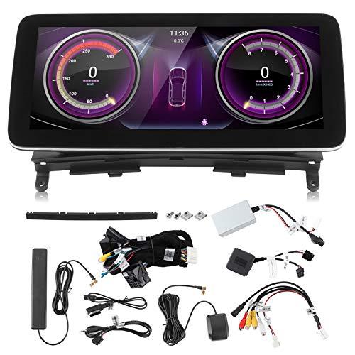 EBTOOLS Sistema de navegación GPS para coche, navegador GPS de 10,25 pulgadas, navegación con pantalla táctil BT, apto para Mer-cedes Benz CL203 W203 W204 2007-2010(Qualcomm 8953 (4 + 64G))