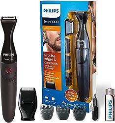 Philips MG1100/16 Multigroom Series 1000 Präzisionstrimmer, für ideale Linien, Kanten und Konturen