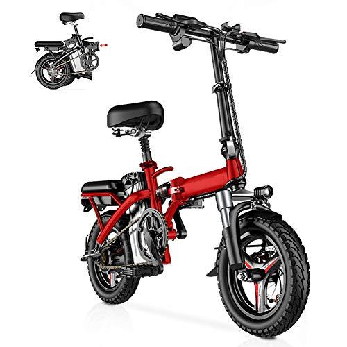 CYC Bicicleta Eléctrica Plegables Bici Electricas Adulto con Ruedas de 14