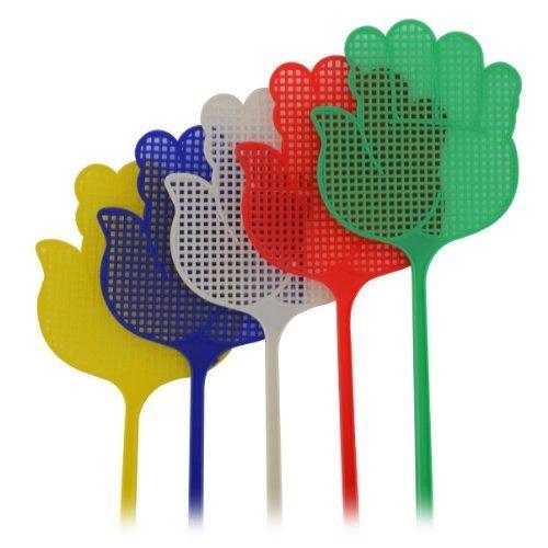 Nouveau 5x Gros Sac Plastique Swatters Mouche Moustiquaire aux insectes Wasp Pest Contrôle Hand Shopmonk