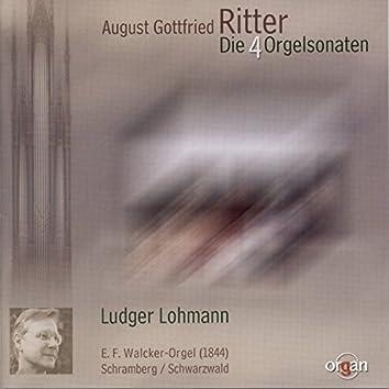 August Gottfried Ritter: Die vier Orgelsonaten (E. F. Walcker-Orgel, Schramberg)
