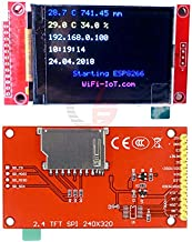 240x320 2.4 inch TFT LCD SPI Serial Port Module DC 3.3V 5V PCB Adapter ILI9341 2.4