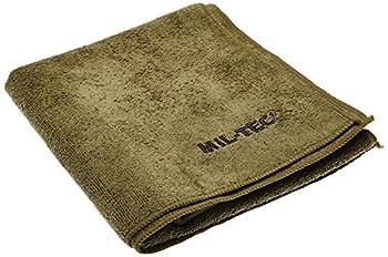 Serviette de toilette microfibres 100x50 Vert armee - Miltec