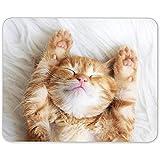 Niedliche Kätzchen-Mausunterlage - Ingwer-Katzen-Mamma-Schwester-Tochter-Geschenk-Computer