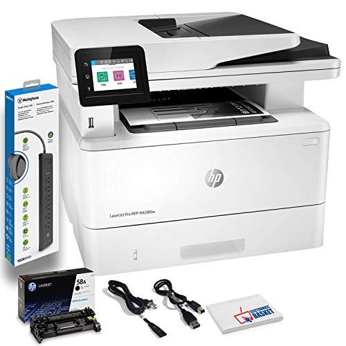 New HP Laserjet Pro MFP M428fdw Wireless Monochrome Laser All-in-One Printer, Copier, Scanner, Fax, ...