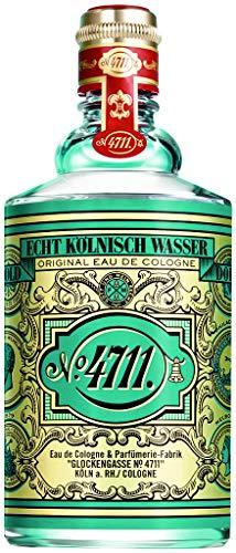 4711® Echt Kölnisch Wasser | Eau de Cologne 200ml Molanusflasche - Duftklassiker im ikonischen Flakon - charakteristischer Duft - unisex - wohltuend für Körper, Geist und Seele