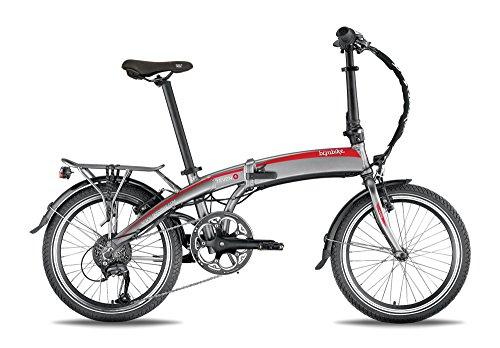 Bicicletta elettrica pieghevole bizo7even Nero/Verde batteria: Samsung 36V–10Ah 360WH–Durata: 90KM–Peso: 18,9kg su Amazon