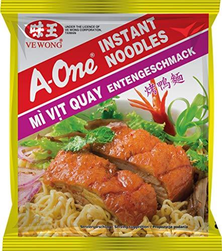 A-ONE Instantnudeln, Ente, geröstet, 85 g