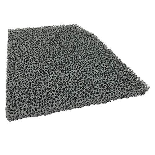 Flamado Kaminofen Feinstaub Rußfilter 236 x 219 x 25 mm Kamin Brennraum Ersatzteil