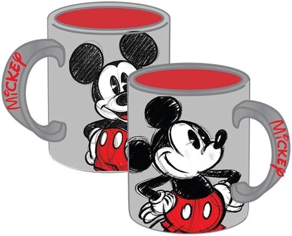 Disney Mickey Mouse 14oz Mug Gray