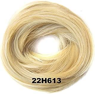 BUN Up Do Hair Piece Ponytail Extensions Draw String Scrunchie #22H613