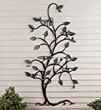 Plow & Hearth Hanging Tree Trellis with Pot Holders - 71.75 L x 37.5 W x 9 H