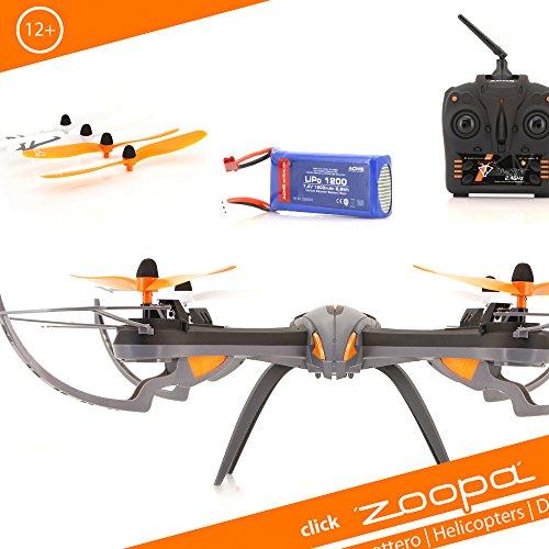 Acme - Zoopa Q 600 Mantide Quadrocopter | 2,4 GHz Telecomando | 360 Gradi Flipfunction | Giroscopio-Sistema (Zq0600)