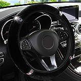 KAFEEK Elastic Fuzzy Steering Wheel Cover for...