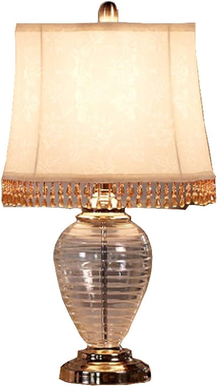 DLewiee Continental Nachttischlampe Schlafzimmerlampe Modernen Minimalistischen Wohnzimmer Wohnzimmer Wohnzimmer Studie Gartenlampe Creative Glass Tischlampe B01IBSL9FM     | Attraktives Aussehen  dcd2af
