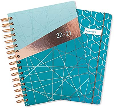 Matilda Myres Academic Mid Year Diary 2019-20 A5 Day Per Page Wiro-Colour Choice