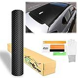 Kit de herramienta gratuita ezautowrap 3d con textura de fibra de carbono adhesivo Wrap Film de vinilo mate hoja