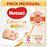 Caja de pañales Huggies recién nacidos pack mensual | Precio más barato online