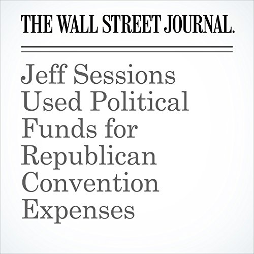Jeff Sessions Used Political Funds for Republican Convention Expenses copertina