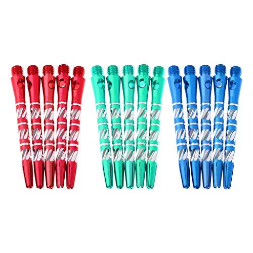 Accessorio per aste per freccette per alberi per freccette in lega di alluminio 15pc