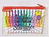 Evidenziatore - STABILO swing cool - Trousse con 14 Evidenziatori: 8 Fluo + 6 Pastel - Edi...