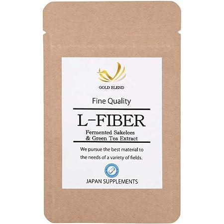 難消化性デキストリン 食物繊維 発酵酒粕 緑茶カテキン サプリメント L-FIBER 60粒