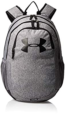Under Armour Adult Scrimmage Backpack 2.0 , Graphite (040)/White , One Size Fits All