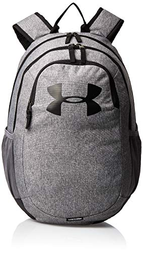 Under Armour UA Scrimmage 2.0 Backpack, Laptop Backpack, Waterproof Bag Unisex, black (Graphite/Graphite/White(040)), one size