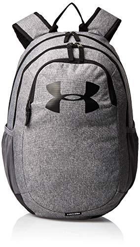 Under Armour UA Scrimmage 2.0 Backpack, mochila unisex, mochila resistente al agua unisex, negro (Graphite/Graphite/White(040)), Taglia unica