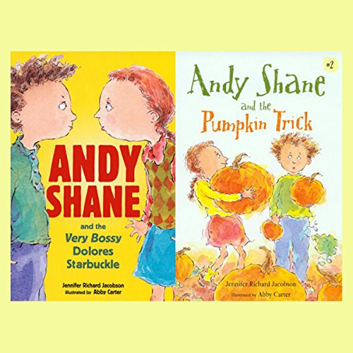 Andy Shane & the Very Bossy Dolores Starbuckle / Andy Shane & the Pumpkin Trick audiobook cover art