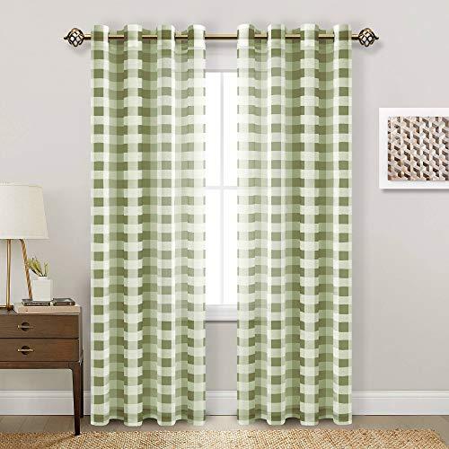 cortina verde fabricante Hiasan