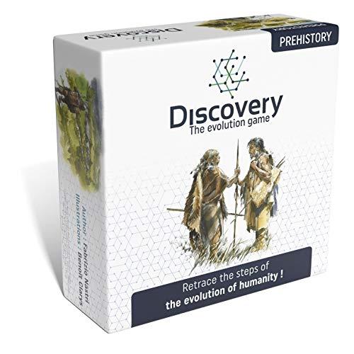 Discovery – das Evolutionsspiel: Prehistorory – ein spannendes und intelligentes Kartenspiel für Kinder und Erwachsene – HPSB2.02en