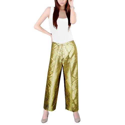 3ac8edf76e7 Silk Trousers: Amazon.com
