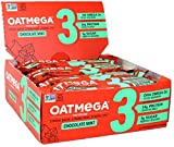 Boundless Nutrition Bar Chocolate Mint Crisp Oatmega Bar, Gluten-Free, Egg-Free (Pack of 12)
