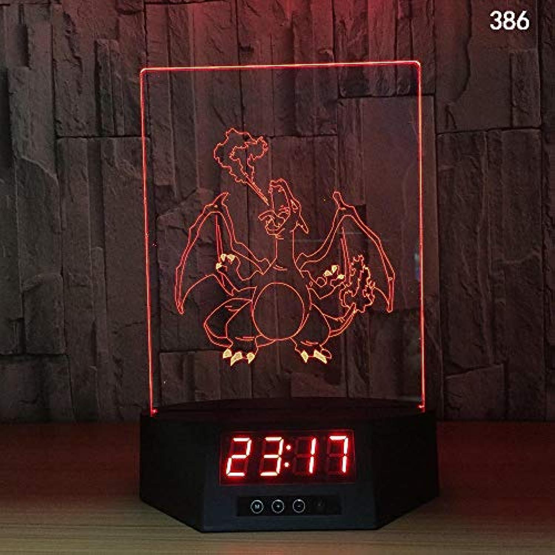 3D Nachtlicht Dolphins Night Light Dolphin 3D Nachtlicht Smart Home Fernbedienung Nachtlicht Usb Clock Generation Farbe Remote Touch