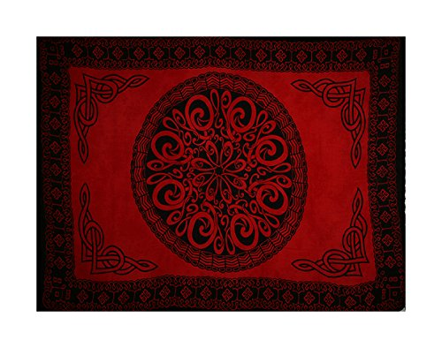 Celtic or Tribal Knot Sarongs - Assorted Fuchsia Shades, Various Designs, Reduced