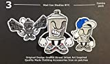 Cool Iron on Patches 3pc Pack Urban Art Style Inspired Cool Patches Quality Made Rare